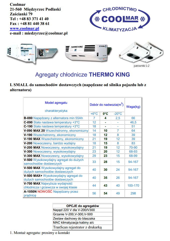 thermo-king small